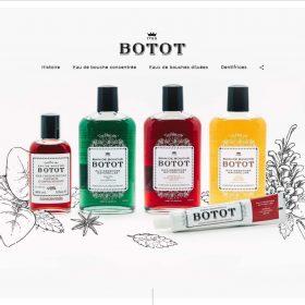 「BOTOT」のおしゃれな容器とそれを伝える絶妙なサイトデザイン