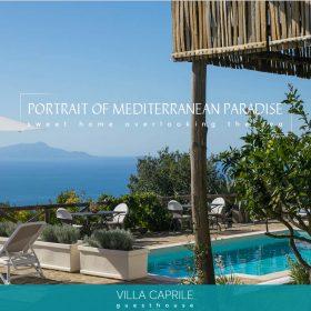 伝わるサイトデザインで宿泊したくなるゲストハウス「VILLA CAPRILE」