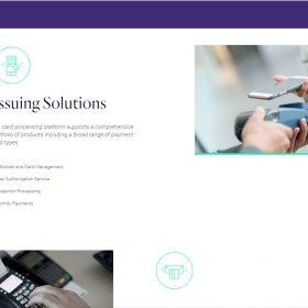 決済関係のサービスを分かりやすいホームページデザインで「MERCURY」