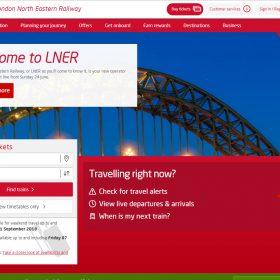鉄道会社のリブランディング「LNER」