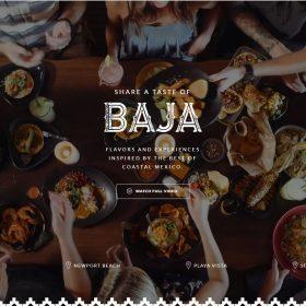 """SOL Mexican Cocina"" レストランの良さを導き出すホームページデザイン"