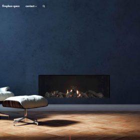 「Escea」オシャレな暖炉を感じるWEBデザイン