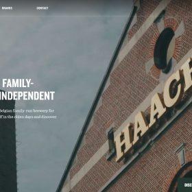 「HAACHT」ブランディングがうまい醸造メーカーのWEBデザイン