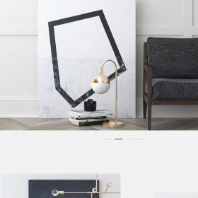 「Verho」芸術家らしいシンプルなWEBデザイン