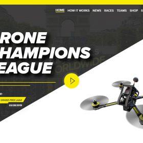 """DCL"", ドローンチャンピョンシップリーグのドローンの魅力を伝えるサイト"