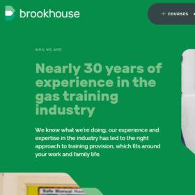 「Brookhouse」ガスエンジニアのトレーニング施設のサイト