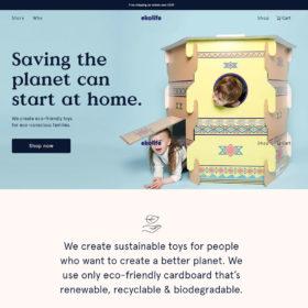 「ekolife」エコなおもちゃで地球を救う