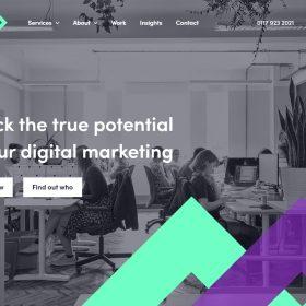 「Loom」デジタルマーケティングの会社サイト