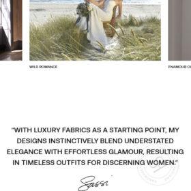 Sassi Holford、ウェディングドレスなどを扱っているブランドサイト