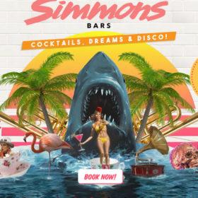「Simmons Bars」ロンドンのレトロなバーのサイト