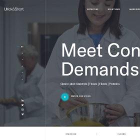 「Ulrick &  Short 」身体に良い透明性のある原材料を認定するラベルのサービスを提供